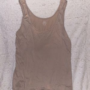 First Layer Nude Old Navy Tank